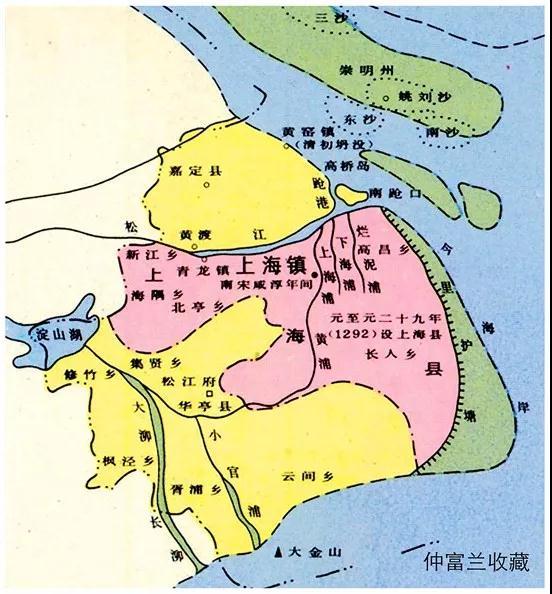 """非遗与人文图典:""""上海镇""""的史料佐证"""